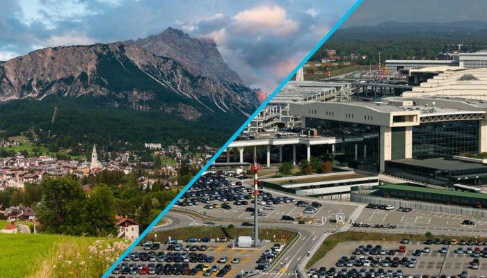 Transfer Star: трансфер по маршруту Кортина-д'Ампеццо – Аэропорт Милана «Мальпенса»