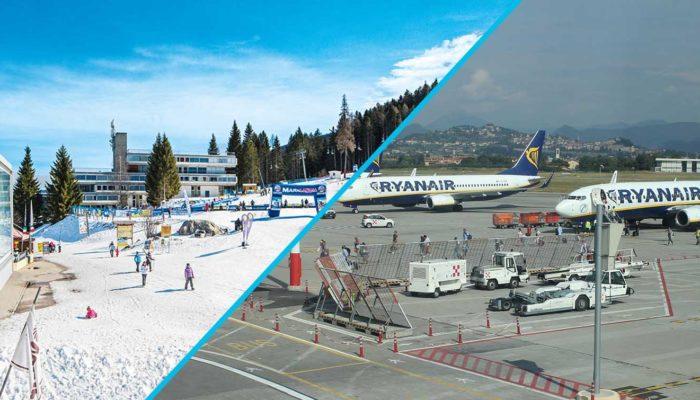 Transfer Star: трансфер по маршруту Мариллева 1400 – Аэропорт Бергамо