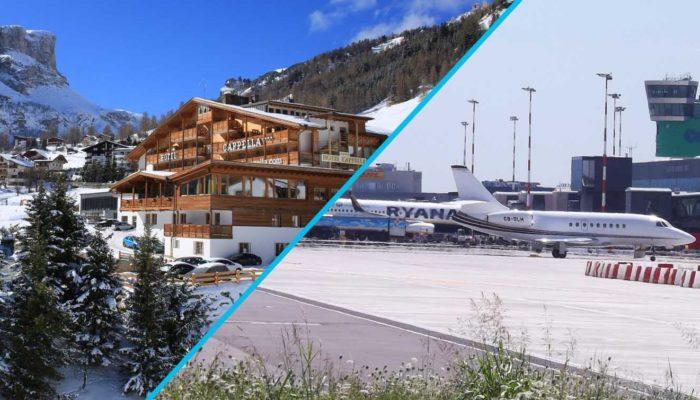 Transfer Star: трансфер по маршруту Валь-ди-Фасса-Канацеи-Кампителло-Поцца-ди-Фасса – Аэропорт Бергамо