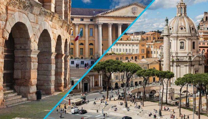 Transfer Star: трансфер по маршруту «Верона – Рим»